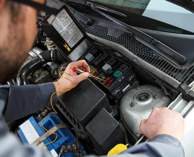 Controle van systemen en onderdelen van uw auto